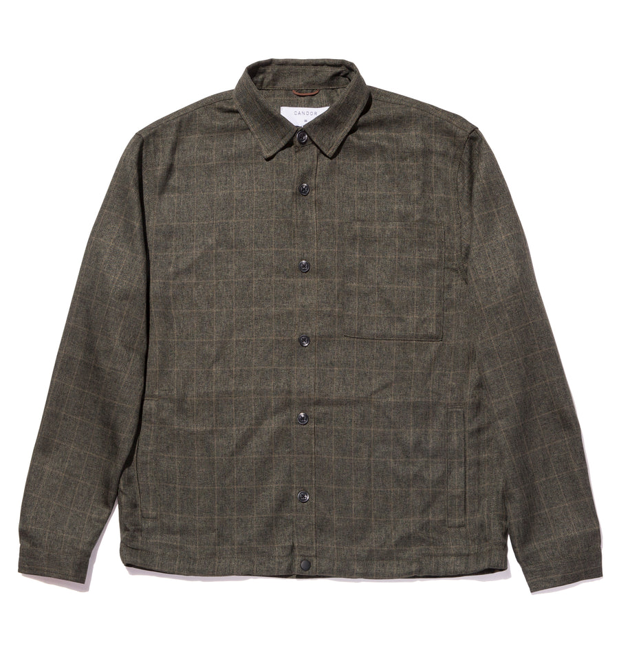 candorofficial - CHECK OVERSHIRT - Shirts