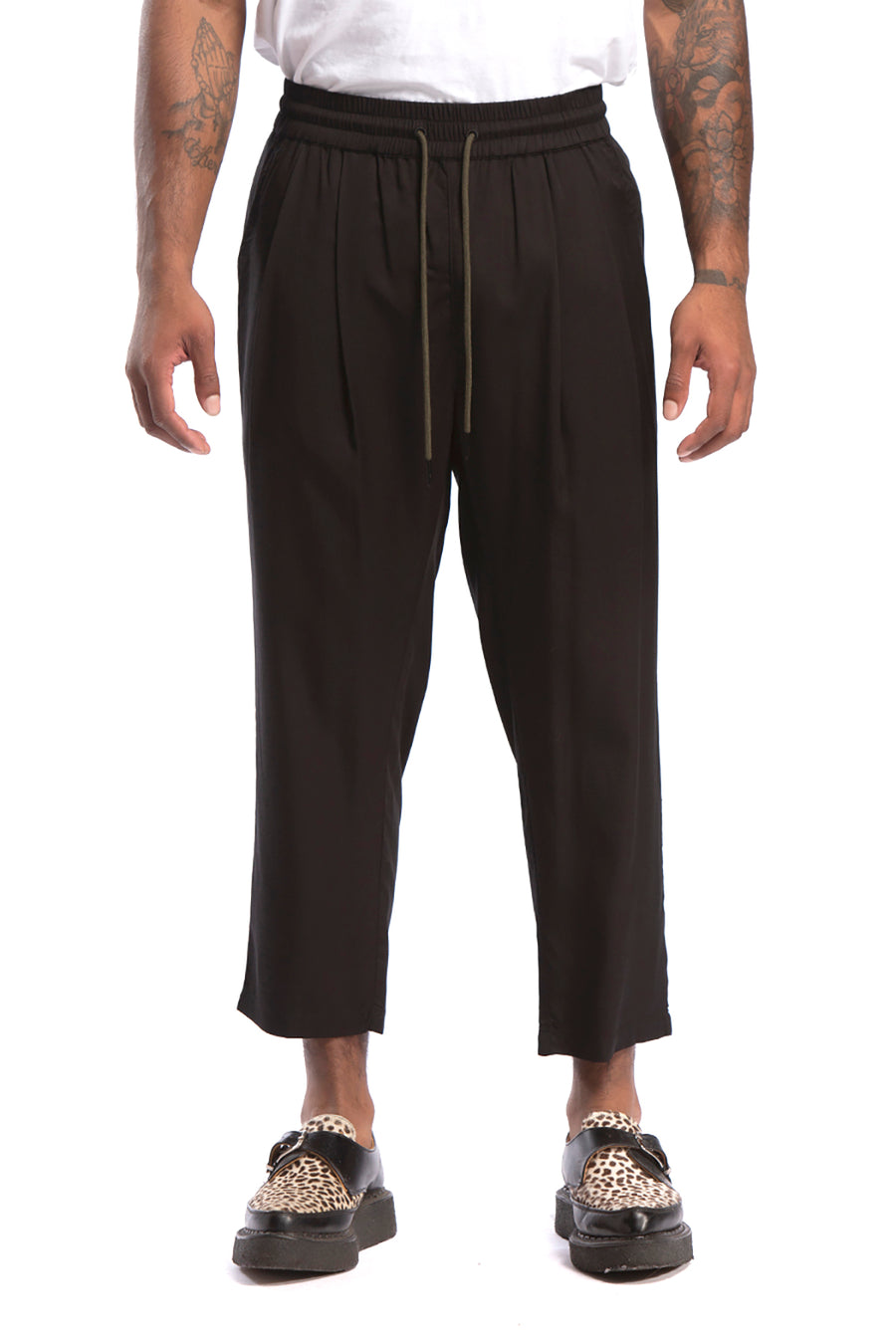 candorofficial - Lakewood Ankle Pant, Black - Bottoms