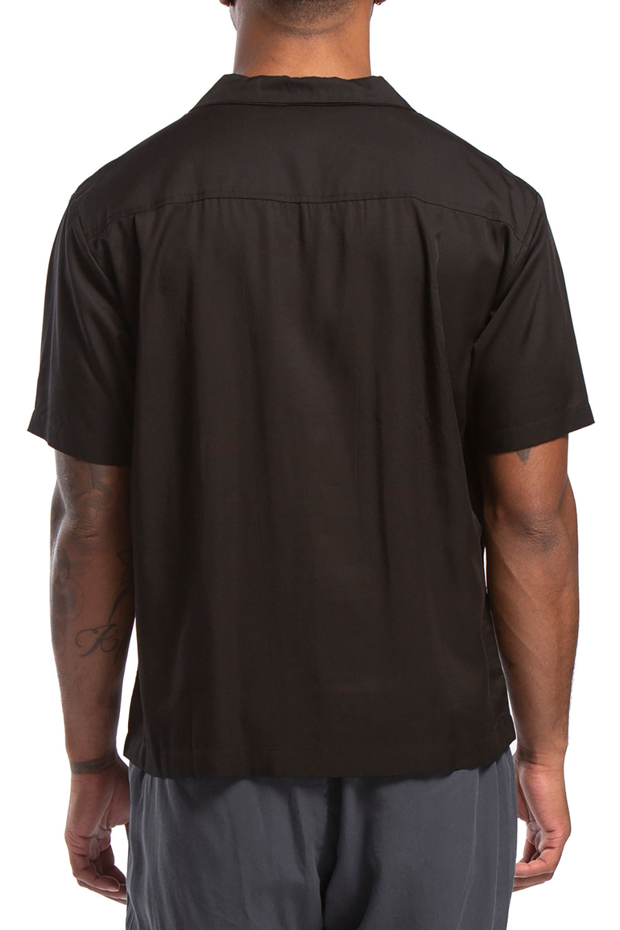 candorofficial - Bascc Lounge Shirt, Black - Shirts