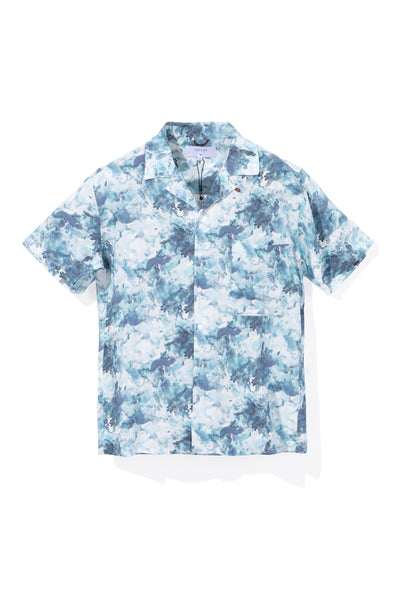 LUSCENT ALOHA SHIRT, BLUE