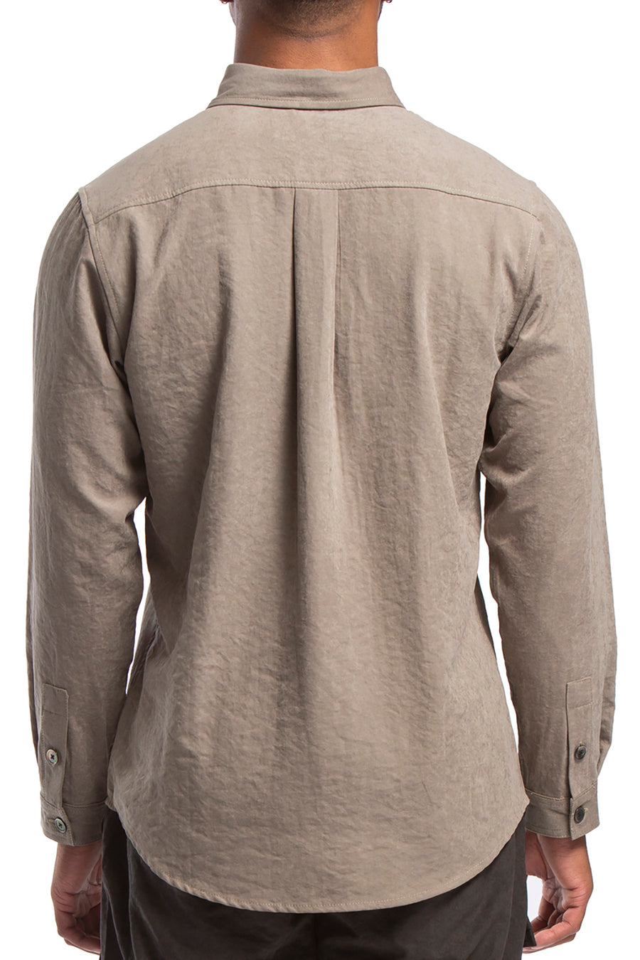 Mesquit Buttondown, Tan Olive