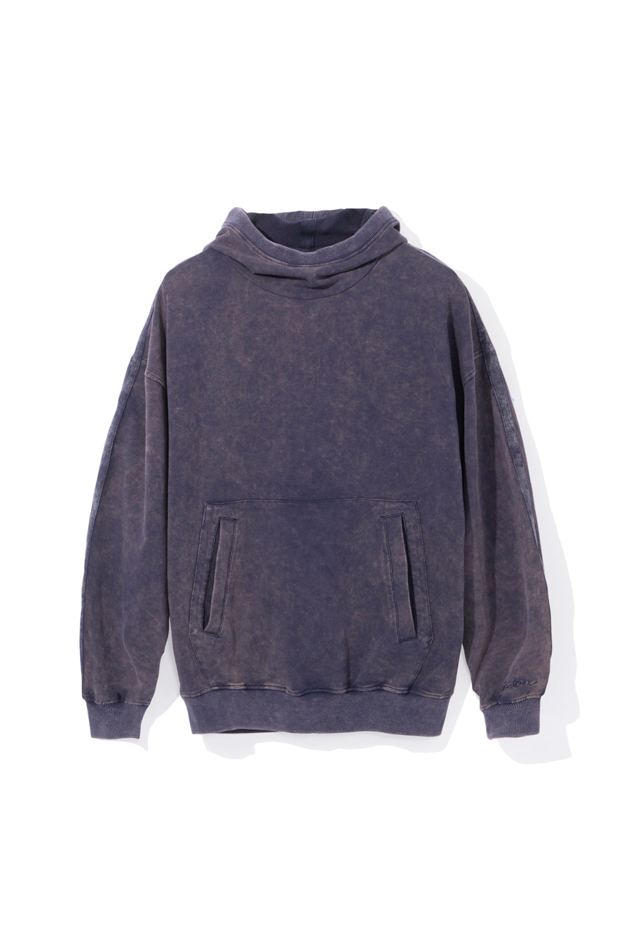 candorofficial - Washed Hoodie, Blue - Sweatshirts