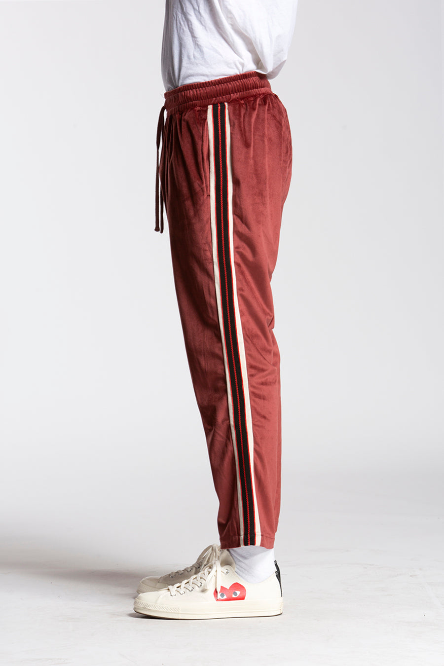 candorofficial - Track Pant, Maroon - Bottoms