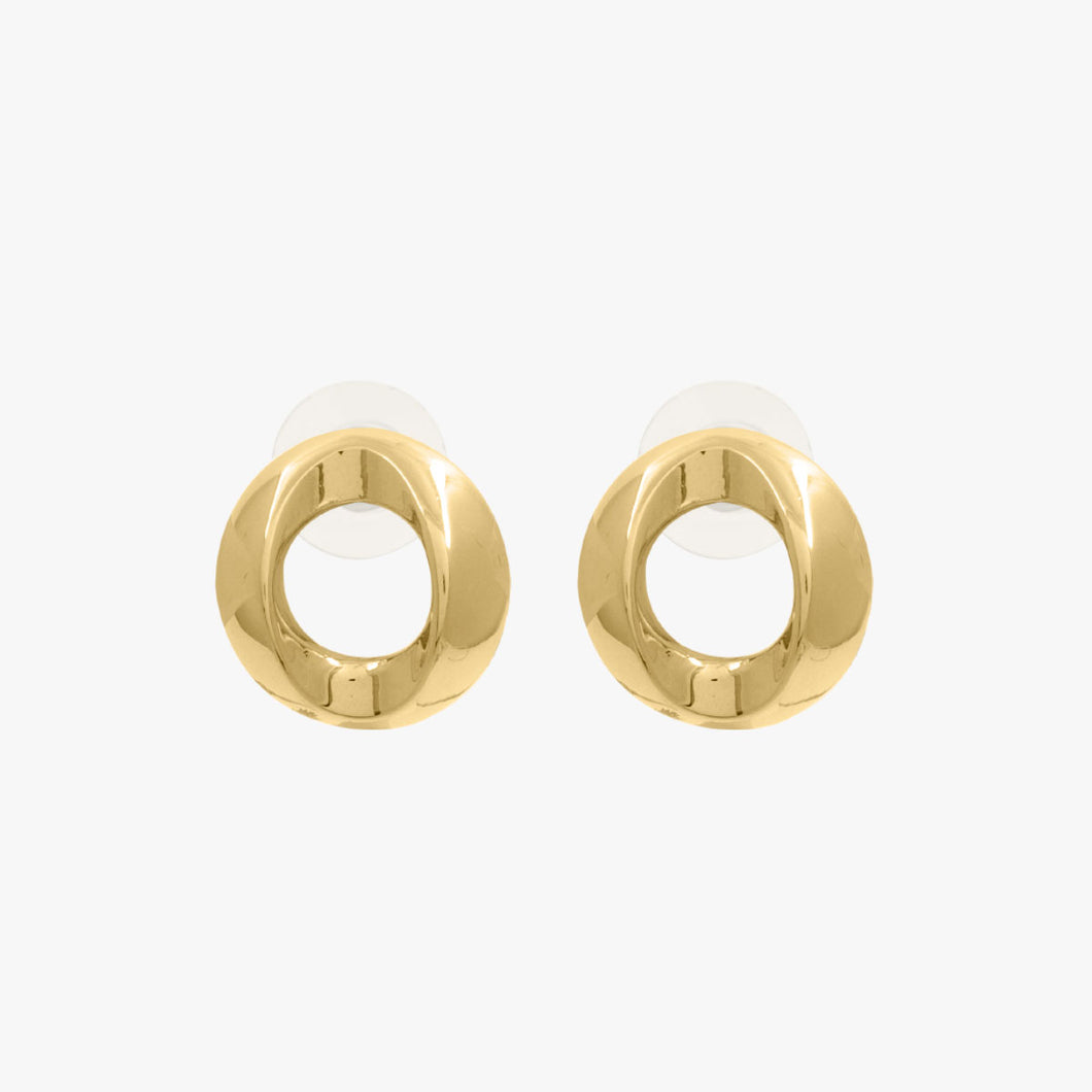 E0066 ORO CXC Gold Earrings