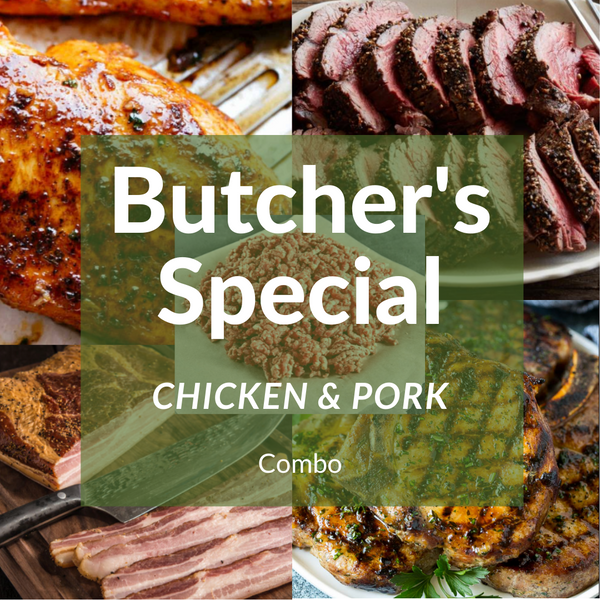 Butcher Special Chicken & Pork