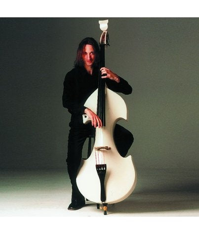 Bridge Cetus 4 String Double Bass, WHITE