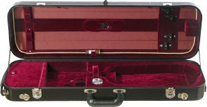 Bobelock 1060 Fiberglass Suspension Oblong Violin Case/ VELVET