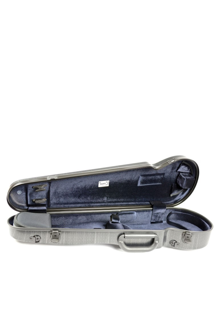 BAM 2002 CONTOURED Hightech Violin Case, Lazure