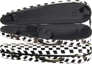 Core CC800 Fiberglass Crescent Shaped Violin Case
