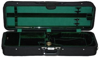 Bobelock 1003 Featherlite Oblong Suspension Violin Case/Velvet