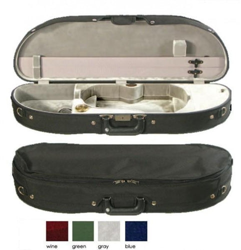 Bobelock 1048 Half-Moon Suspension Viola Case, Velvet