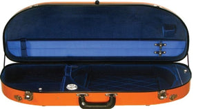 Bobelock 2048 Fiberglass Half-Moon Adjustable Viola Case/ Velvet