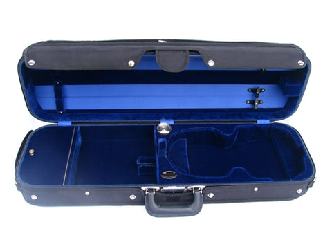 Bobelock 6002 Oblong Suspension Violin Case, VELVET