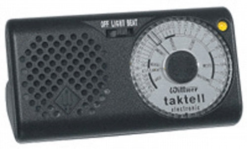"METRONOME-Quartz Taktell with ""A"" tone"