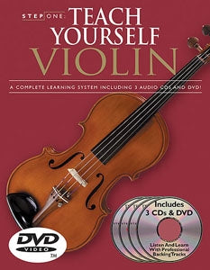 Teach Yourself Violin - Step One CD/DVD Package