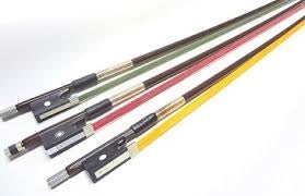 Glasser Premium Color Fiberglass Violin Bow