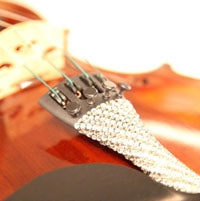 Baroque Bling Violin Tailpiece: The Luxe