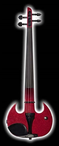 Mark Wood SVX Stingray Candy Apple Red 4 String Violin