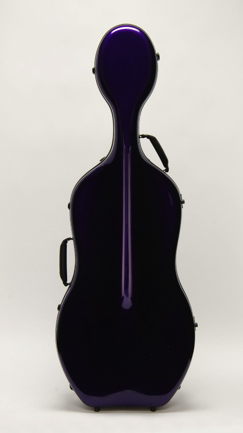 "Otto Music CC-528 ""Mirage"" Cello Case, Purple"