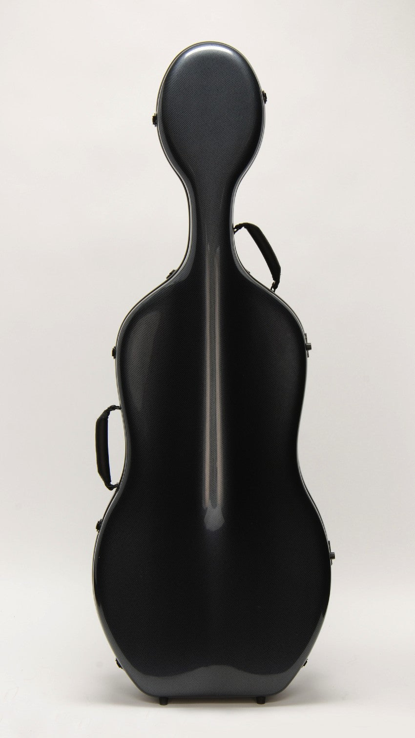 "Otto Music CC-528 ""Mirage"" Cello Case, Silver Grey"