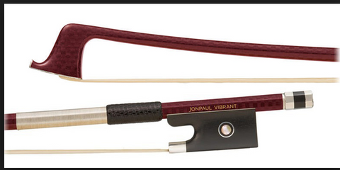 JonPaul Vibrant Silver Select Cello Bow