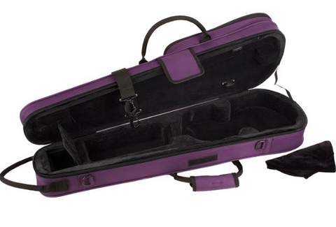 Pro Tec Max Shaped Purple Violin Case