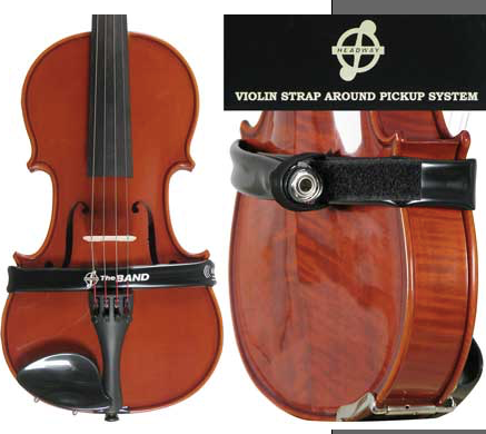 The Band Wrap-Around Pickup System - Violin