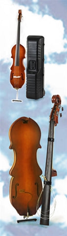 Eminence Portable 4-String Removable Neck Electric Upright Bass