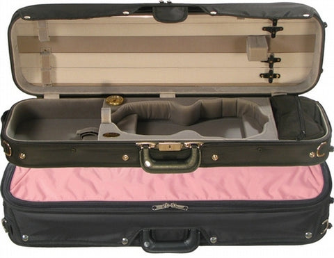 Bobelock 6002 Puffy Sport Oblong Violin Case/Velour