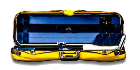 Bobelock 1060 Fiberglass Oblong Suspension Violin Case/Velour