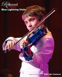 Blue Lightning Violin Outfit