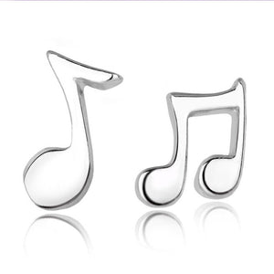 Musical Notes Earrings Stud Jewelry