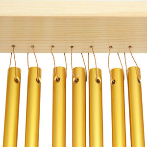 20-Tone Table Top Bar Chimes With Wood Stand Stick