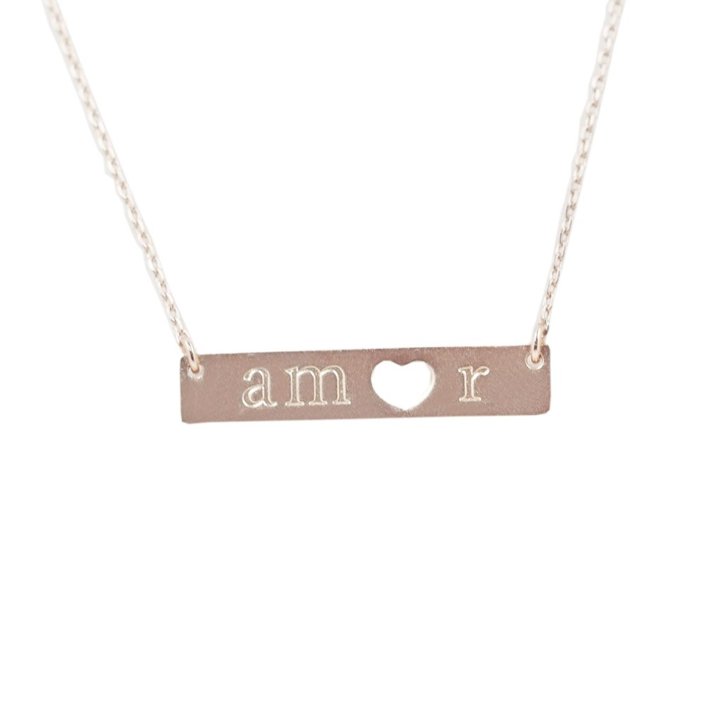 Amor Necklace - Rose Gold