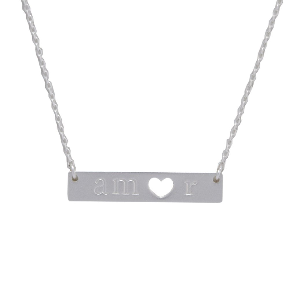 Amor Necklace - Silver
