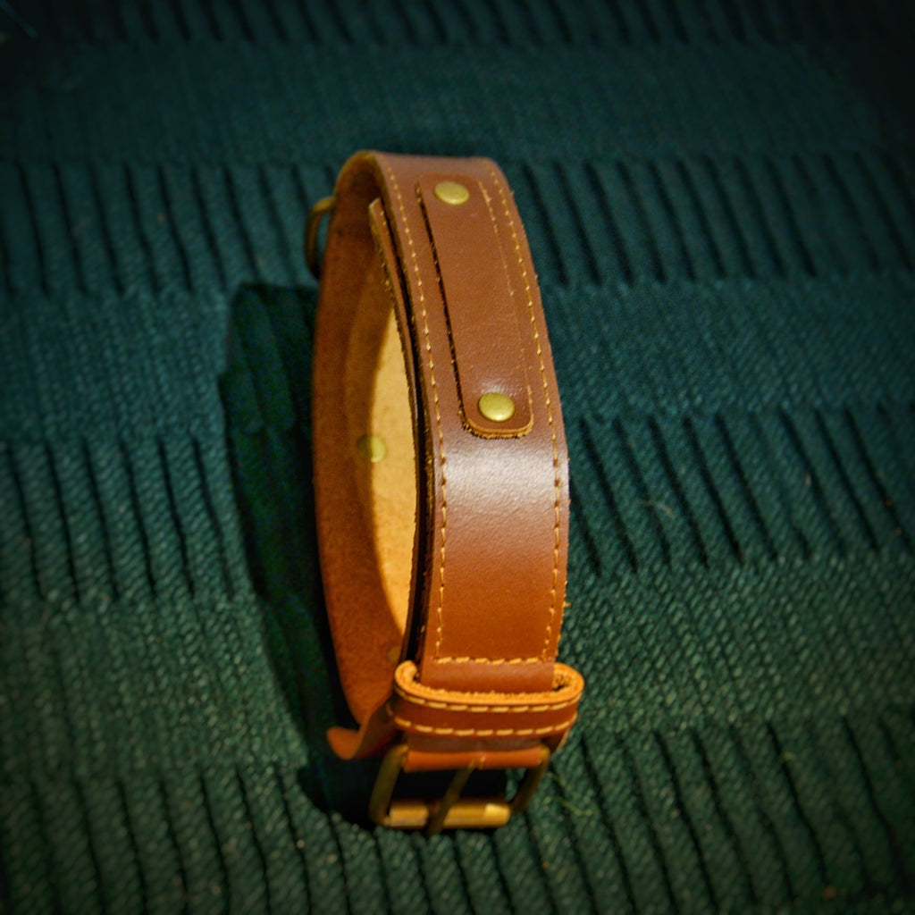 Leather Collars | TyPaw Cafe| Ella Series - TyPawCafe