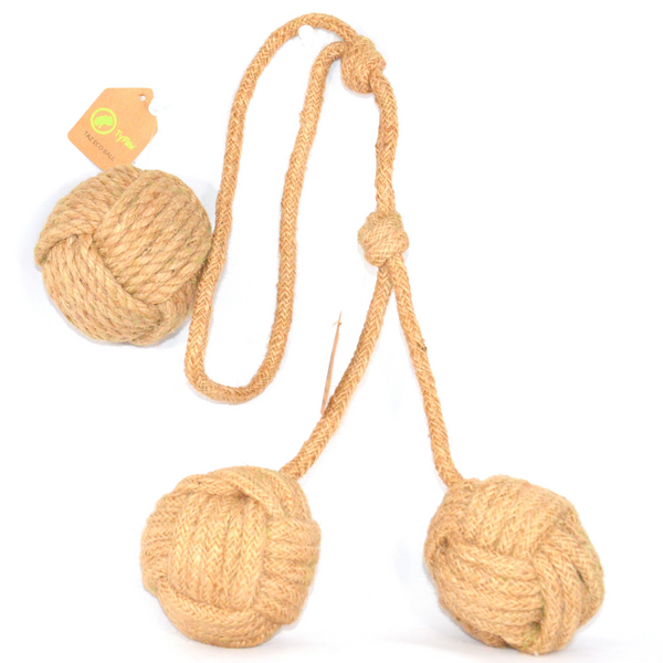 Bundle of Two Rope Toys | Rocco 2.0 & Taz Eco Ball