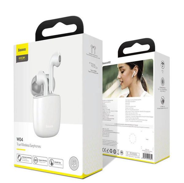 Fone Bluetooth Encok W04 Com Carregamento Wireless