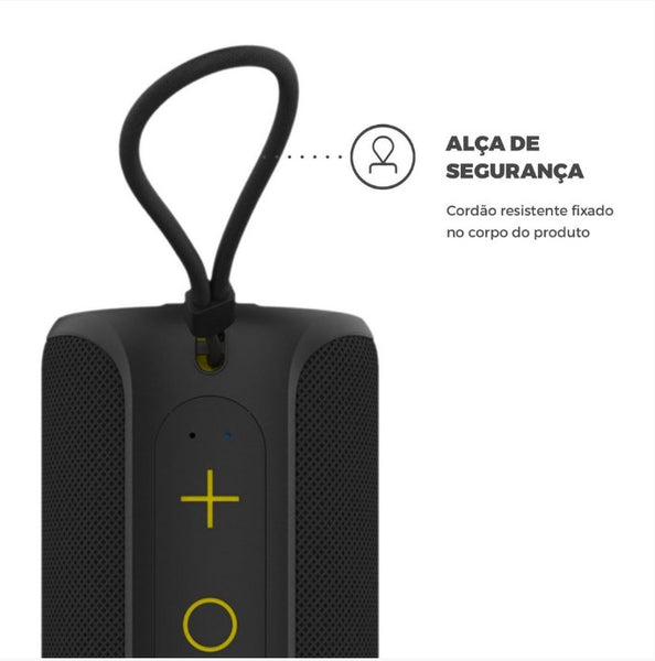 Caixa de Som Bluetooth BLACK