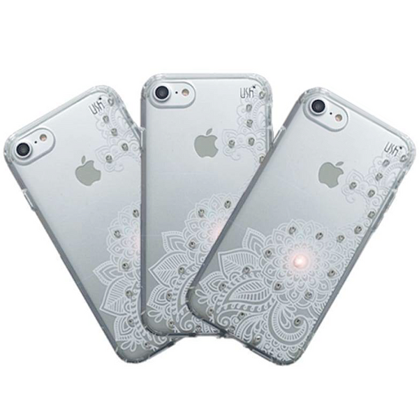 Capa Invisivle Swarovski Iphone