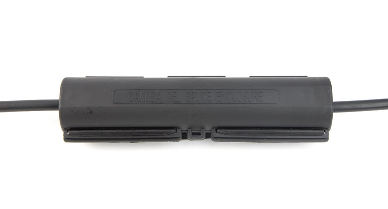 Gel Filled Enclosure for RG7 / RG11 Burial - Black