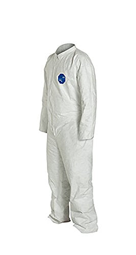 DuPont Tyvek 400 TY120S Protective Coverall Disposable White