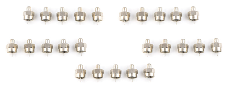 Coaxial F Type 75 Ohm Terminator - 10 pack