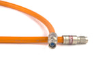 Times Fiber RG11 Orange Underground T11Q60/40-FE Quad Shield Coaxial Cable - 1000ft