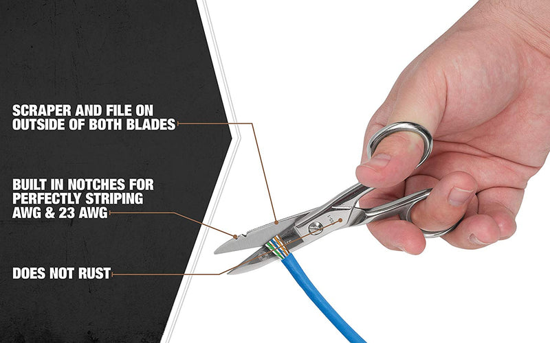 Southwire ESS-1 Electrician's Scissors