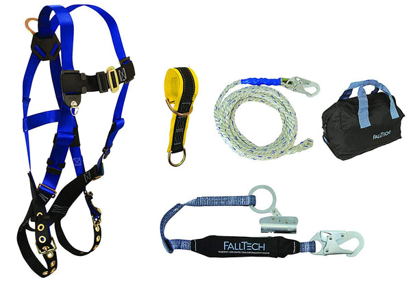 FallTech 9103JK Roofers Kit - Blue