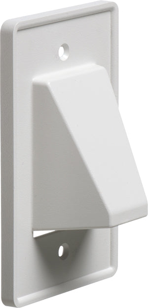 Arlington 1 Gang Reversible Low-Voltage Cable Entrance Plate