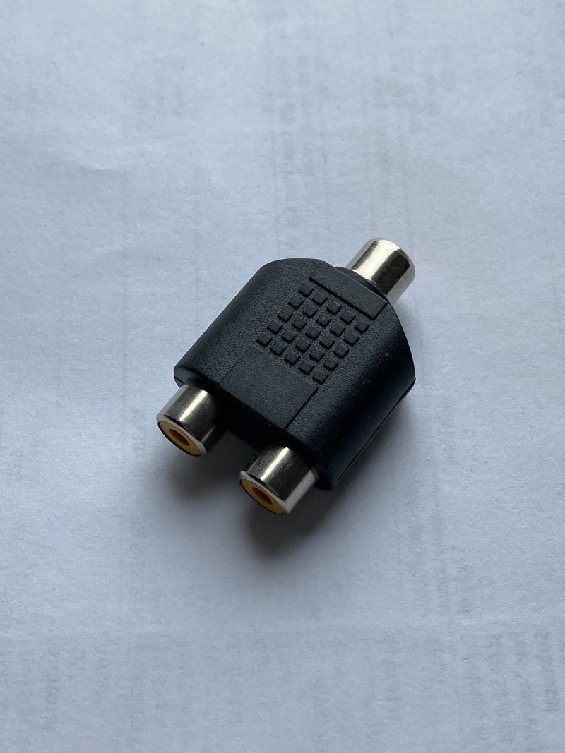 RCA Adapter - 1x F to 2x F