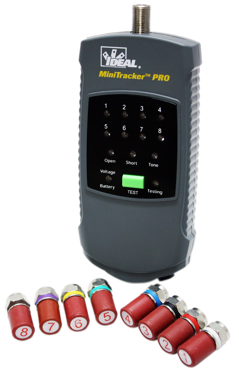 Ideal 62-1202 MiniTracker Pro Coax Tester