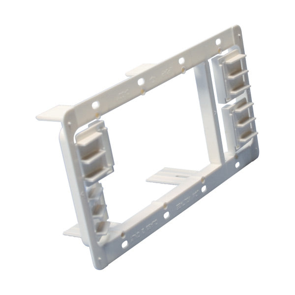 Caddy Plastic 3 Gang Low Voltage Bracket MP34P